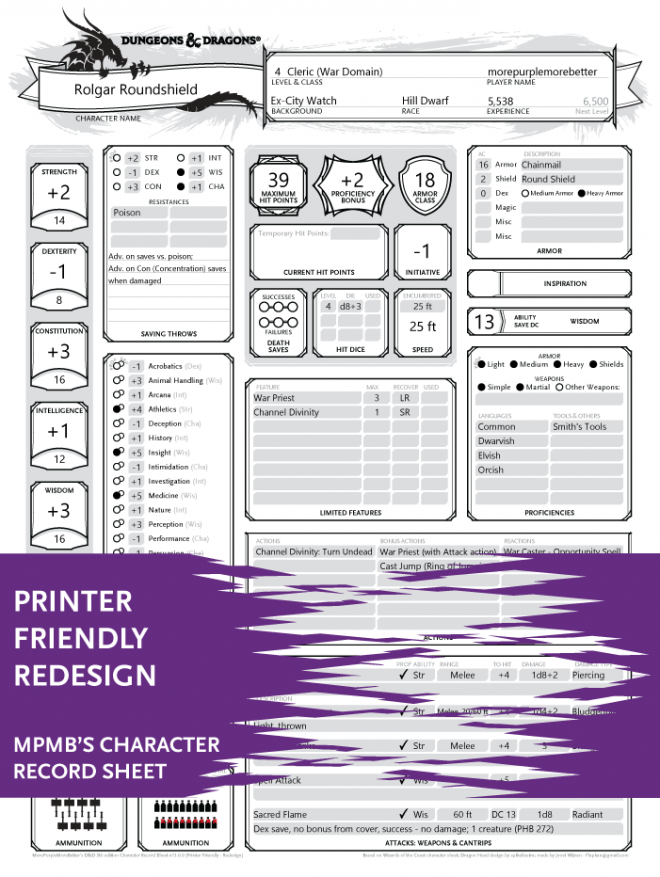 Printer Friendly - Redesign